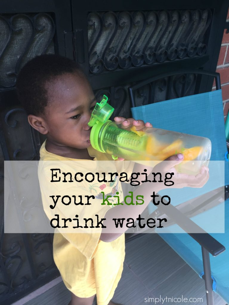 Encouraging your kids to drink water. #DrinkUp