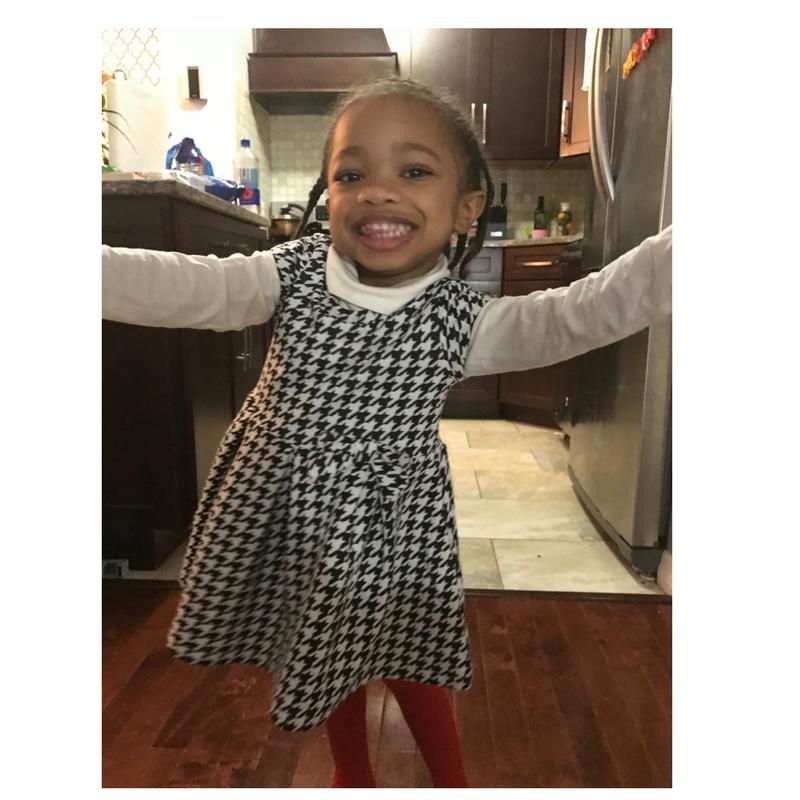 Toddler: Winterize Summer Dress